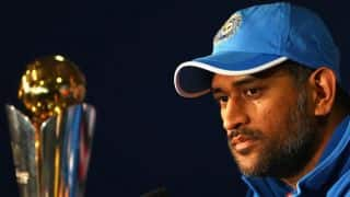 Watch MS Dhoni drop hint at possibility of playing 2019 World Cup