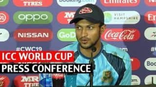 Shakib eyes India upset after Bangladesh boost bid for WC semis