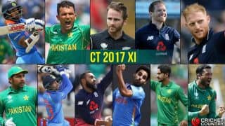 CT 2017: Players from PAK, IND and ENG reign supreme in tournament XI