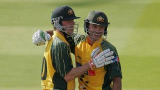 Ricky Ponting shares emotional conversation with Damien Martyn during 2003 WC final