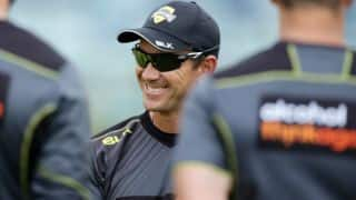 Justin Langer to coach Australia for T20I series against Sri Lanka