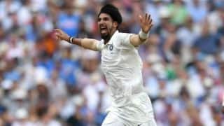 Ishant Sharma removes the skipper Tim Paine to claim his 50th Test wicket against Australia