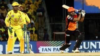 IPL 2019 – CSK vs SRH, David Warner and Manish Pandey's  fifties, Hyderabad sets 176 runs target for Chennai