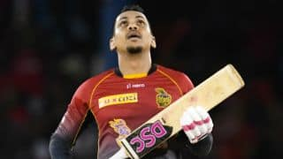 CPL 2017: Sunil Narine's swashbuckling 79 help Trinbago Knight Riders thrash Barbados Tridents by 2 wickets