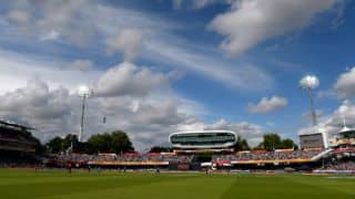 Compton's disappointment at a stand at Lord's being named after him