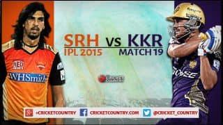 Sunrisers Hyderabad vs Kolkata Knight Riders, IPL 2015 Match 19 at Visakhapatnam Preview