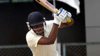 Ranji Trophy 2015-16: Kerala take three points on first innings lead after close draw with Jammu and Kashmir