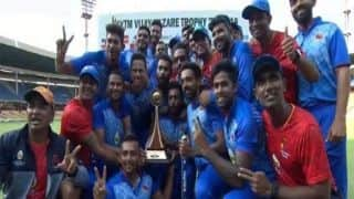 Aditya Tare stars as Mumbai lift third Vijay Hazare title