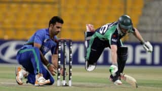 AFG 253/9 (50) | TARGET 266 | Live Cricket Score, Afghanistan vs Ireland 2016, 5th ODI at Belfast: IRE win by 13 runs