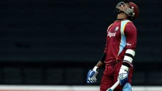 ICC Cricket World Cup 2015: Dwayne Smith, Marlon Samuels out off consecutive deliveries against Engalnd