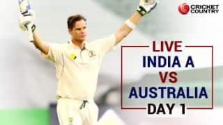 LIVE Cricket Score, India A vs Australia tour match, Day 1: Smith, S Marsh smash centuries
