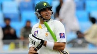 Pakistan lead Sri Lanka by 42 runs at tea on Day 4