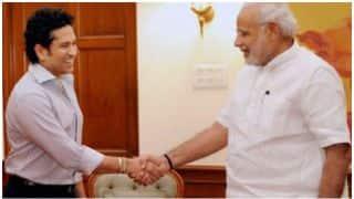 सचिन तेंदुलकर ने पीएम मोदी से की मुलाकात, अपनी फिल्म के बारे में दी जानकारी