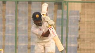 South Zone reach 62/0 at Tea; need 239 to win