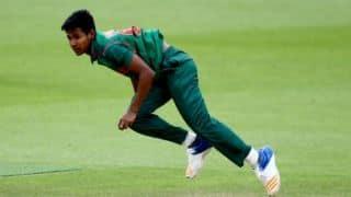 Bangladesh's Mustafizur Rahman ruled out of Afghanistan T20Is