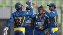 Angelo Mathews relieved to see Sri Lanka home in tricky chase against Bangladesh in Asia Cup 2014