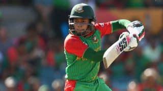 Mushfiqur Rahim's hundred propels Bangladesh to 278 for 7 in 1st ODI vs South Africa