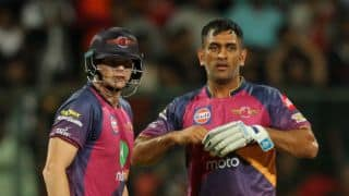 IPL 10: MS Dhoni shares funny moment with Rising Pune Supergaint teammate