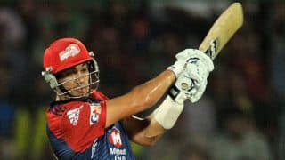 Chennai Super Kings (CSK) vs Delhi Daredevils (DD), IPL 2014: JP Duminy, Ross Taylor dismissed