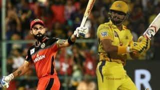कोहली बने IPL में सबसे ज्यादा रन बनाने वाले बल्लेबाज, रैना को छोड़ा पीछे