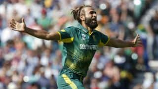 Imran Tahir thanks fans for support after 'racist' incident