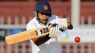 Mahela Jayawardene unbeaten at tea; Sri Lanka 162/2