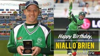 Niall O'Brien: 10 interesting things to know about the Irish wicket-keeper