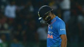 Rohit Sharma rested from India A's four-day match