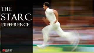 Mitchell Starc's swing-bowling — Poetry in motion