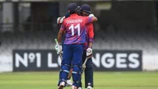 नेपाल को मिली वनडे में पहली जीत, नीदरलैंडस को 1 रन से हराया