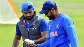 Rishabh Pant needs to be backed a little more: Rohit Sharma