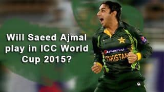 Saeed Ajmal cleared: How he can fit in the Pakistan squad for ICC Cricket World Cup 2015