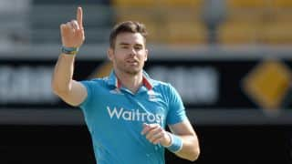 James Anderson recalls how he escaped by an inch to be hit by Matthew Hayden's straight drive