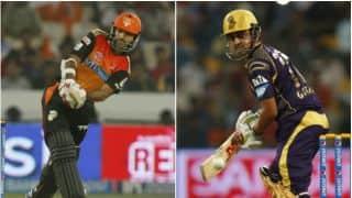 Sunrisers Hyderabad vs Kolkata Knight Riders IPL 2014 Match 43 Preview: Run-fest expected at Hyderabad