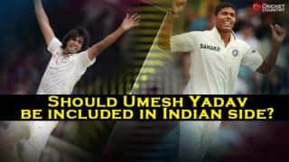 India vs England 2014, 4th Test at Old Trafford: Should Umesh Yadav be sent as cover for Ishant Sharma?