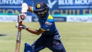 Niroshan Dickwella, Kusal Mendis propel SL to 330-7 vs WI in 5th ODI