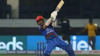 Rashid Khan, Asghar Afghan innings helps Afghanistan to set 224 runs target against Ireland