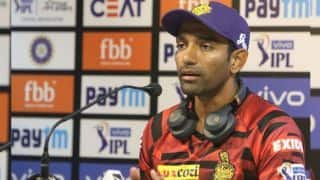 Slow wickets is fine but rank turners not for T20 cricket : Robin Uthappa