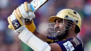 Live Cricket Score Kolkata Knight Riders (KKR) vs Lahore Lions CLT20 2014: KKR labour to 4 wicket win
