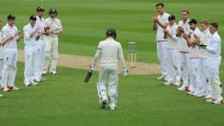 Michael Clarke, Kumar Sangakkara— Same day, two legends walk into field for their final test