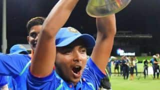 Prithvi Shaw: Can't express my feelings, after India U-19′s World Cup win