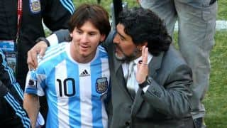 Diego Maradona: Would have punched Lionel Messi over tricky penalty shot
