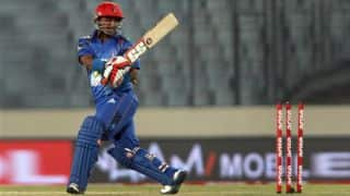 Mohammad Shahzad's monstrous 131 helps Afghanistan go 2-0 up against Zimbabwe in 2nd ODI at Sharjah