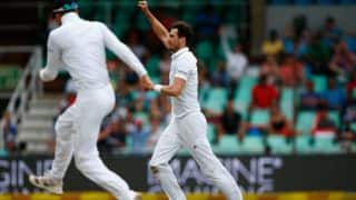 AB de Villiers stands between England and victory as Steven Finn sets match for a thrilling finish at stumps