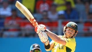 Australia continue to dominate bowlers against Ireland in one-off ODI at Belfast