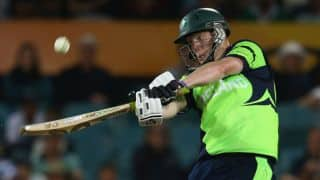 Ireland recover from poor start to score 146/5 in 1st innings against Scotland in 1st T20I at Bready