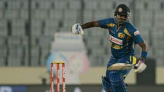 Angelo Mathews leads Sri Lanka's victory against determined Bangladesh in Asia Cup 2014