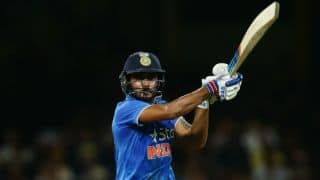 Manish Pandey considered Australia one of his state opponents en route maiden ODI ton at Sydney