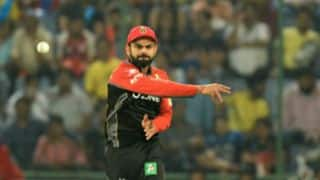 Kohli slapped with INR 12 lakh fine for slow over-rate
