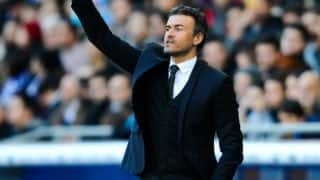 Luis Enrique named World's Best Club Coach in 2015